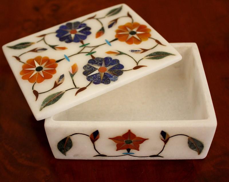 India Stone Box