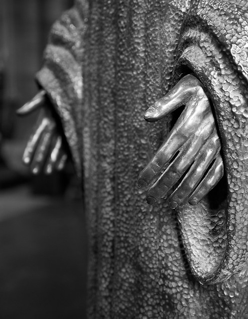 Sherborne Abbey Hands