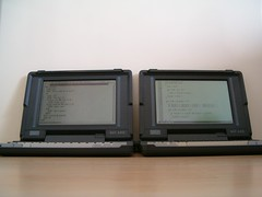 Psion laptops: MC400 and MC600
