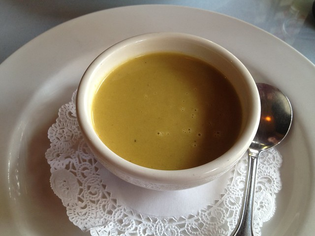 Lobster bisque - Curbside Cafe