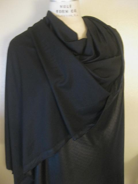 Black Wool Jersey