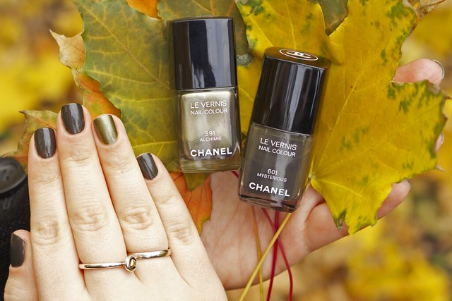 11 Chanel Alchimie + Mysterious swatches