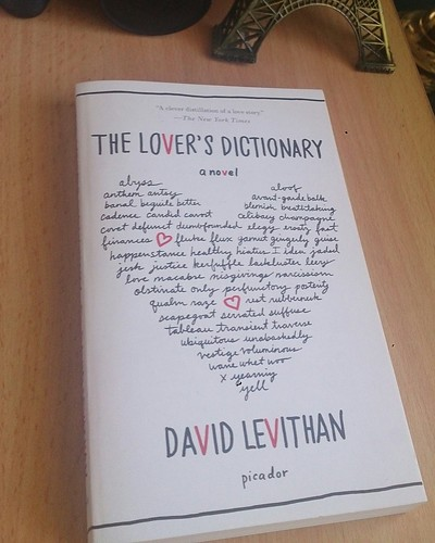 David Levithan's The Lover's Dictionary
