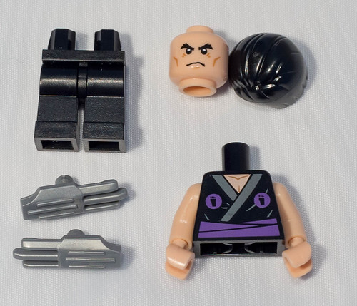 REVIEW LEGO 5002127 Polybag Flashback Shredder