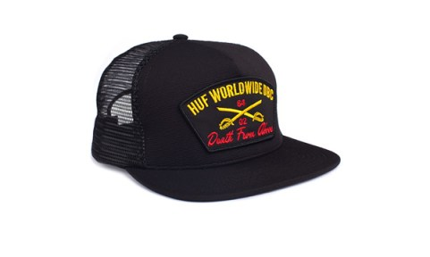 huf_hat_Death_From_Above_Trucker_Black