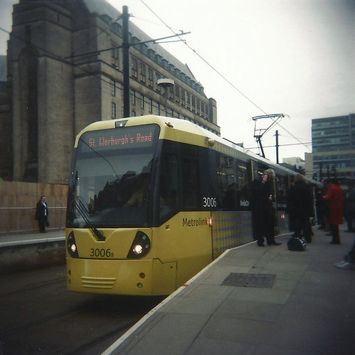 Flexity Swift M5000, St. Peter's Square, Manchester