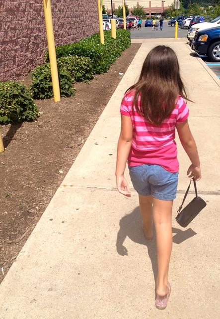 Walking to Walmart