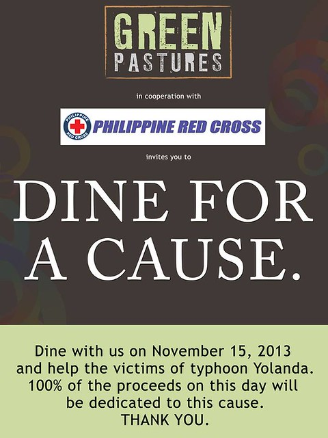 Green Pastures DINE for a CAUSE