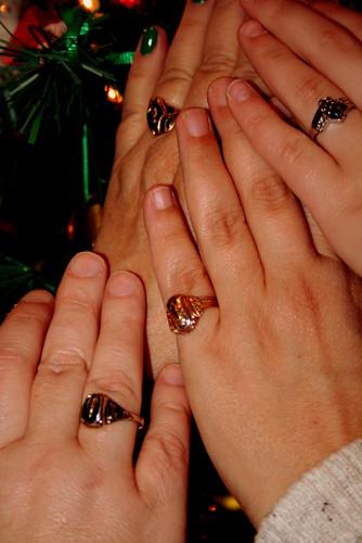 84/365 - Wearing Class Rings