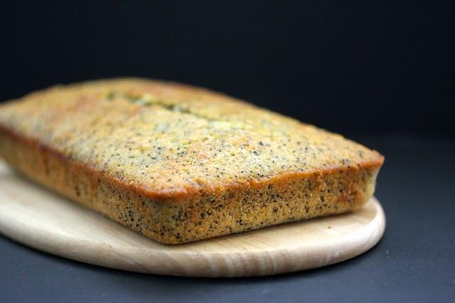 Orange Poppy Seed Cake
