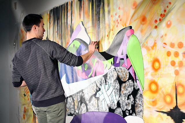 Sekure D x Nike AM90 Mural