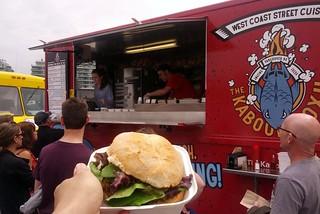 Van-burger Veggie Burger - Kaboom Box
