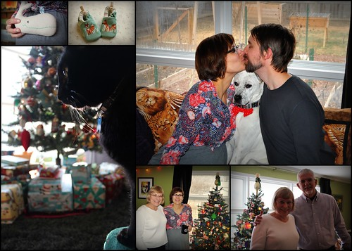 20131225. Christmas collage.
