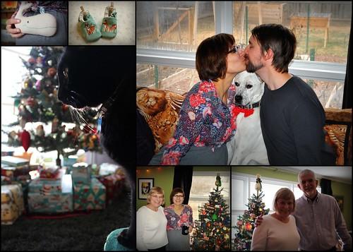 20131225. Christmas collage.