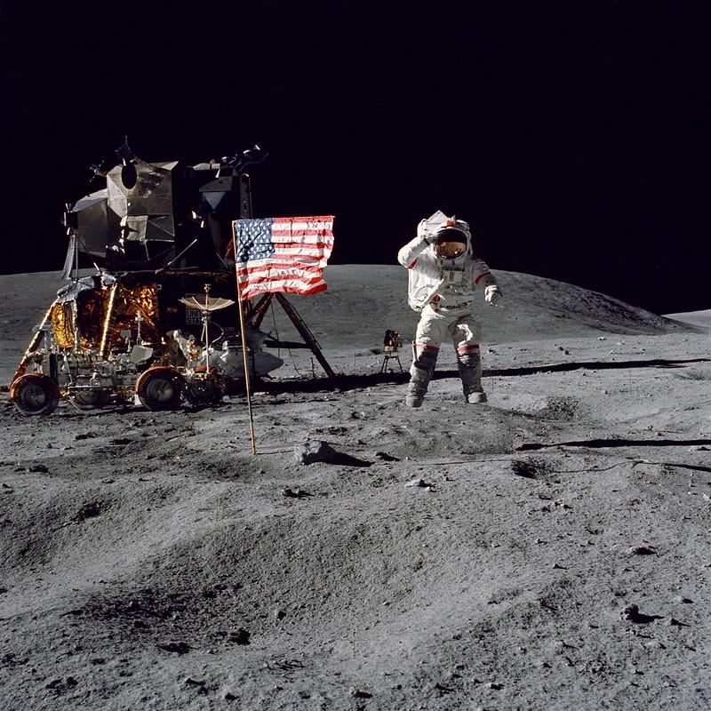 Apollo 16 (Archive: NASA, Marshall, 4/16/72)