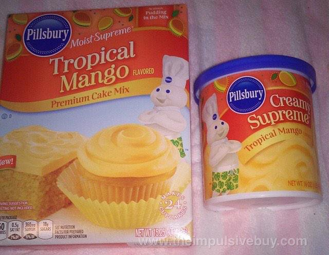 Pillsbury Tropical Mango Premium Cake Mix