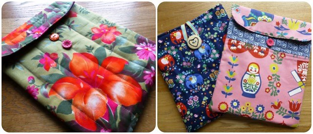 Ipad covers - class samples