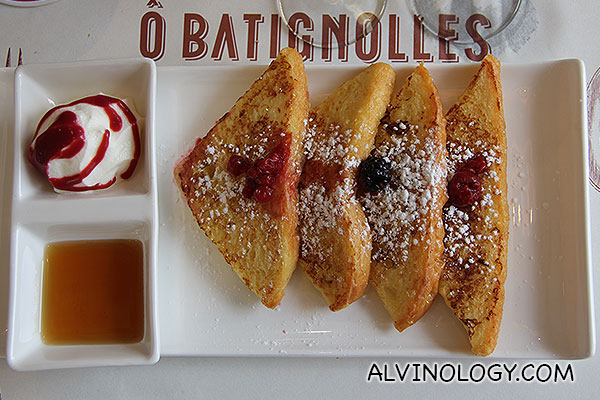 Authentic french toasts