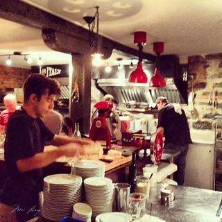 open kitchen at Venti