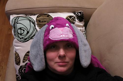 Bunny-head #365feministselfie 25/365