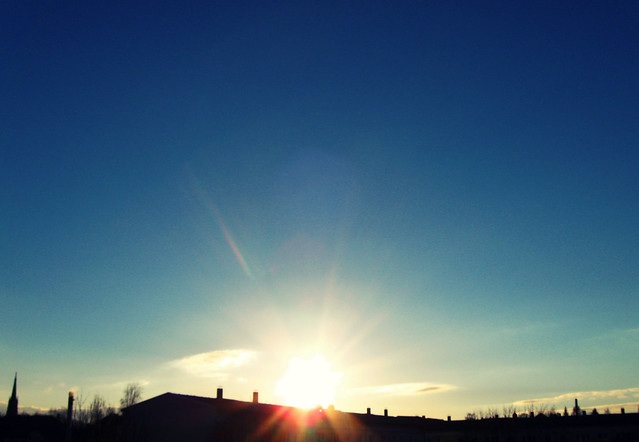 Frei wie der Blick zur Sonne