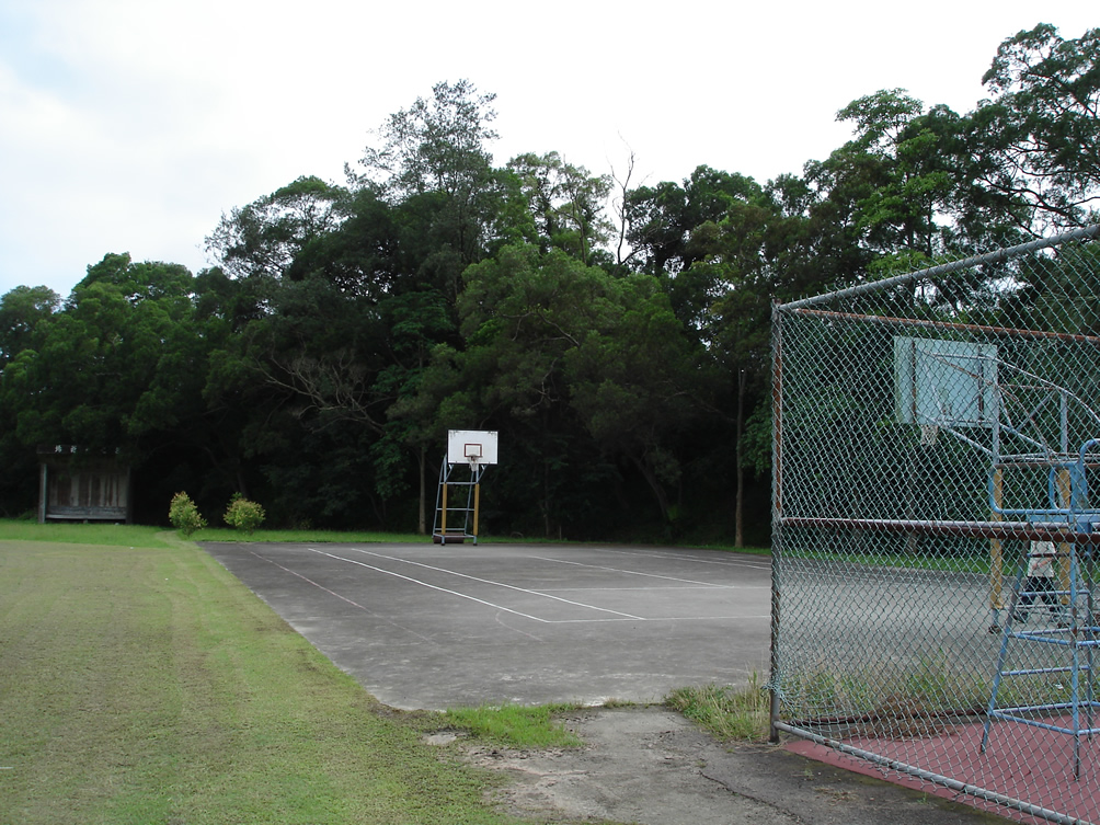 The court at the School for Boys in Hsinchu Country, Taiwan