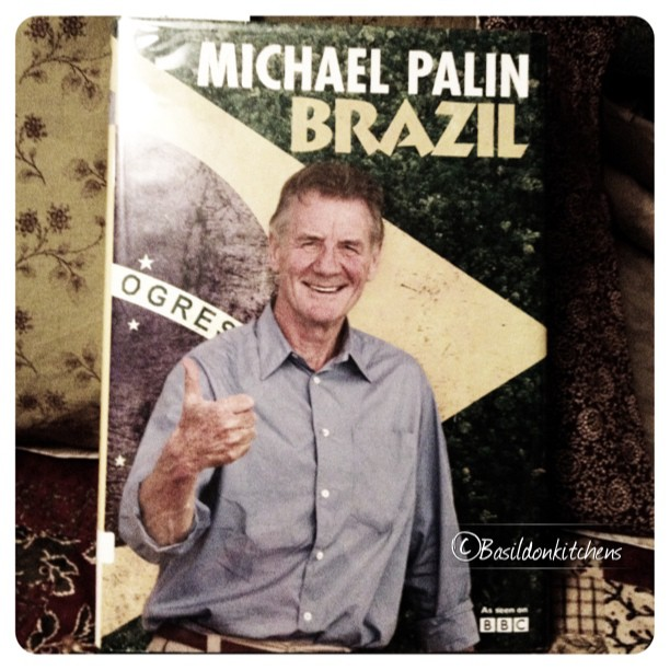 June 14 - favorite read {I love all of Michael Palin's travel books; informative humorous; and just plain enjoyable!} #photoaday  #TitleFx #book #reading #travel #michaelpalin #adventure
