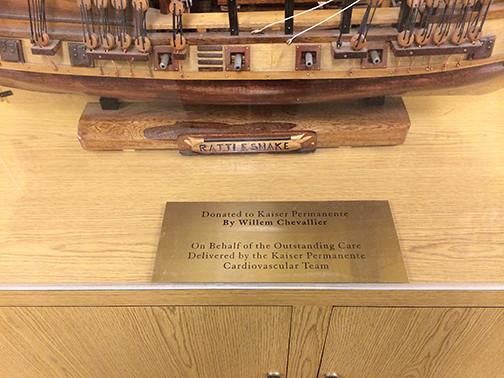 Kaiser plaque