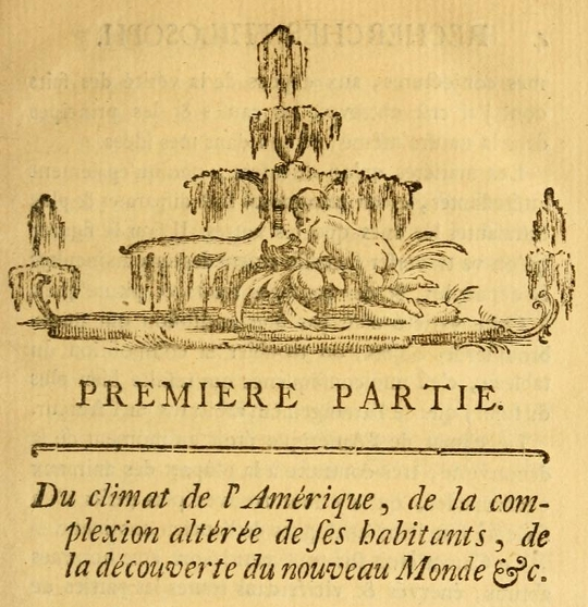 Cornelius de Pauw's Researches Philosophiques sur les Américains