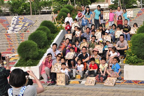 【Video】2014樹谷園區親子木作坊:自然彈珠台(9.8ys)