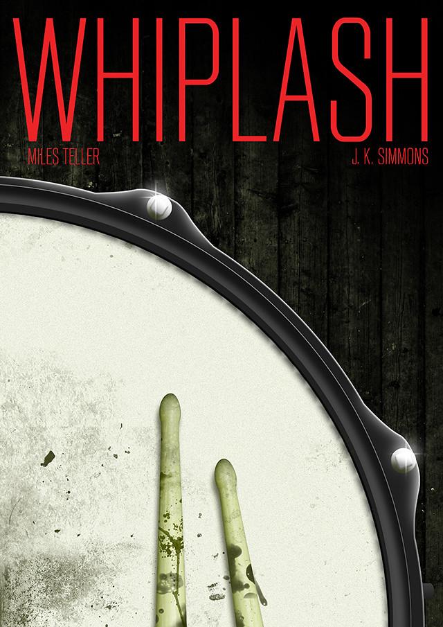 Whiplash poster design