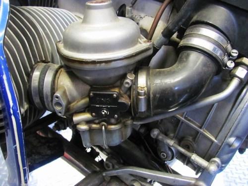 Before-Left Carburetor