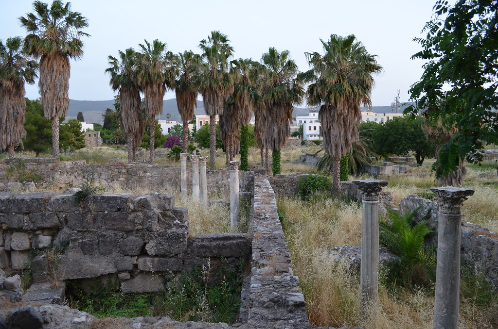 Kos old town ruins