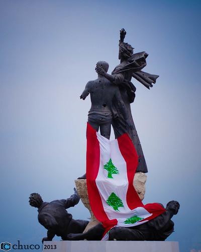 Líbano en pie by Christian Ubilla