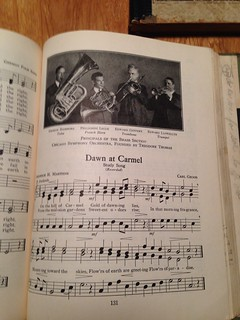 "Dawn at Carmel - from ""The Music Hour"" by Silver Burdett Company, 1932"