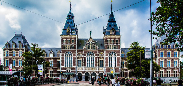 The Rijksmuseum, Amsterdam,