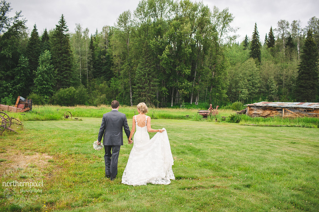 Newlywed Photos at Huble Homestead