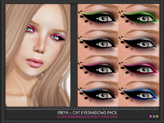 Freya Cats Eyeshadows