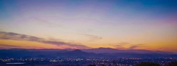 Thanksgiving Sunset - Morgan Hill