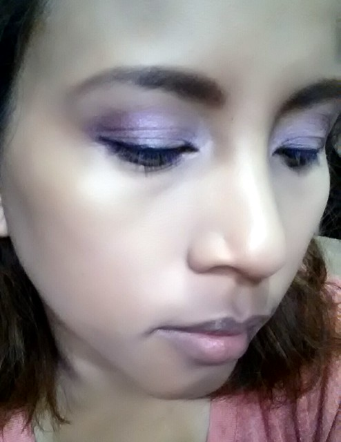 #FOTD radiant orchid look