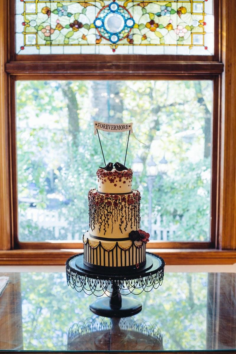 A wonderful cake based on Shana's design