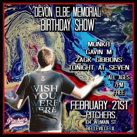 Devon Elbe Memorial 2-21-14