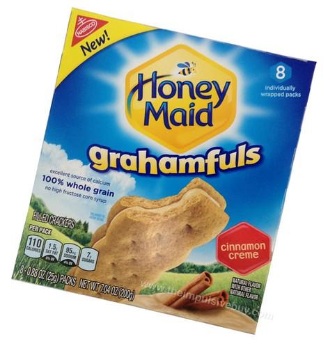 Nabisco Honey Maid Grahamfuls Cinnamon Creme