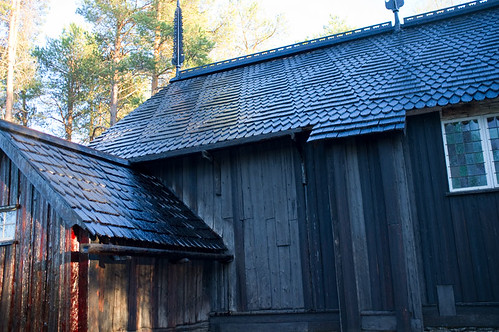 Sodankylä old church, Lapland