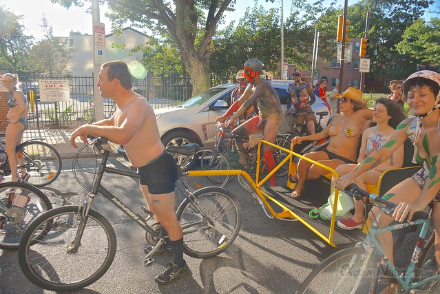 naturist 0096 Philly Naked Bike Ride, Philadelphia, PA USA