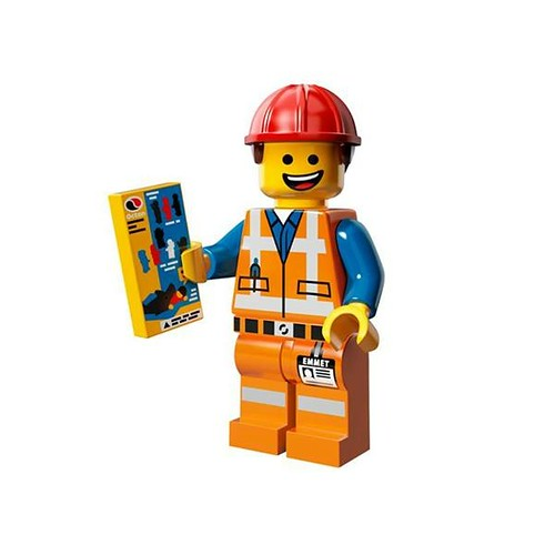 The LEGO Movie Minifigures Hard Hat Emmet
