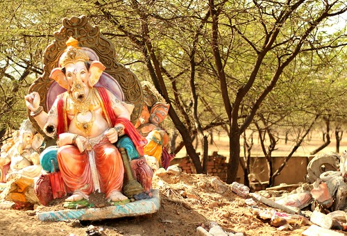 Ganesh abandoned