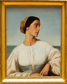 Femme de Saint-Jean-de-Luz, Amaury Duval. Lille, France, Le Palais Des Beaux Arts
