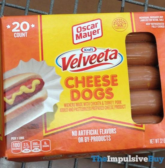 Oscar Mayer Velveeta Cheese Dogs