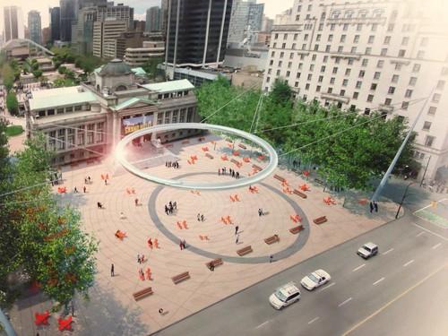 North Plaza Concept - PLALO Ring